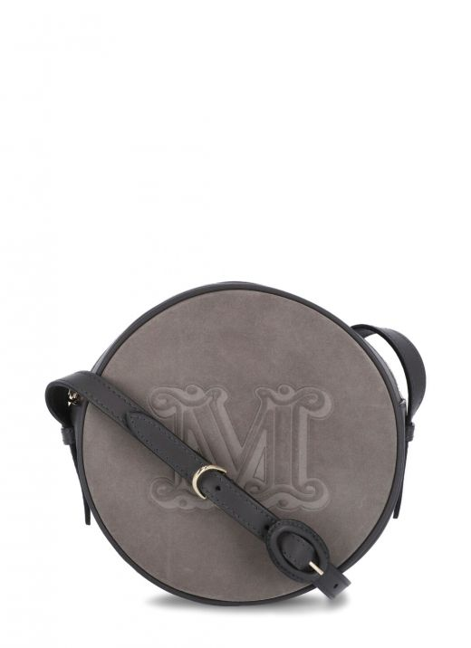 Leather and suede Cross-body bag