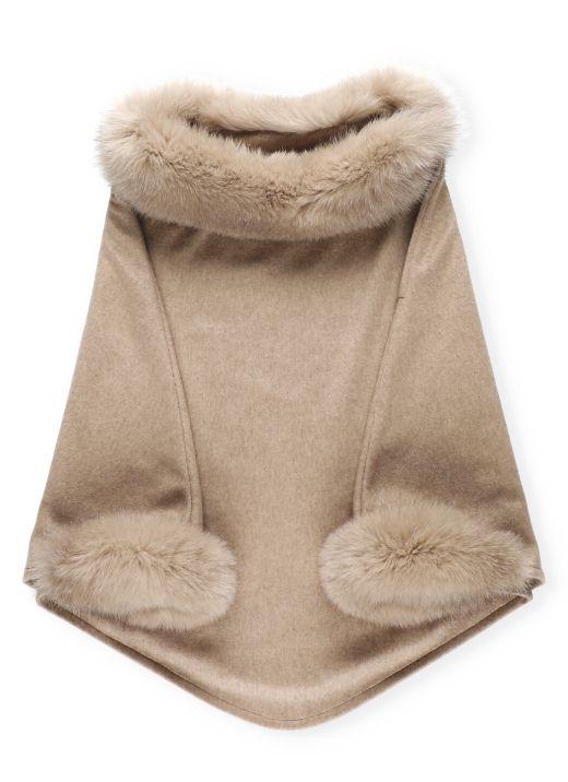 Cappa in cashmere