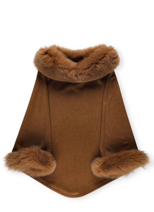Cashmere cape