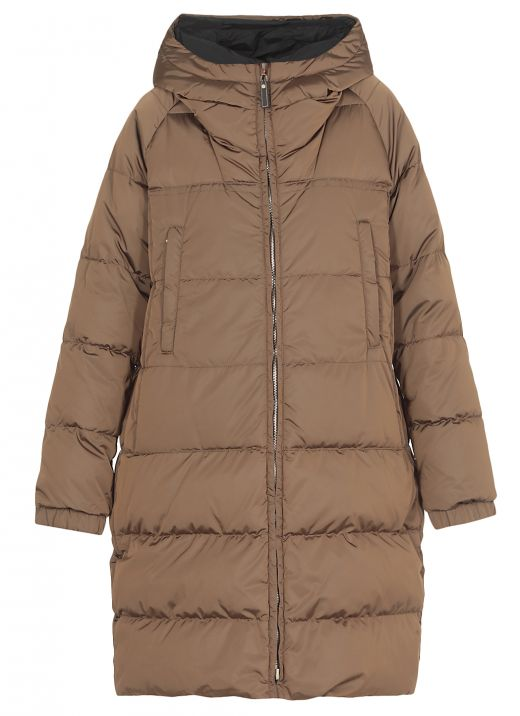 The Cube long down jacket