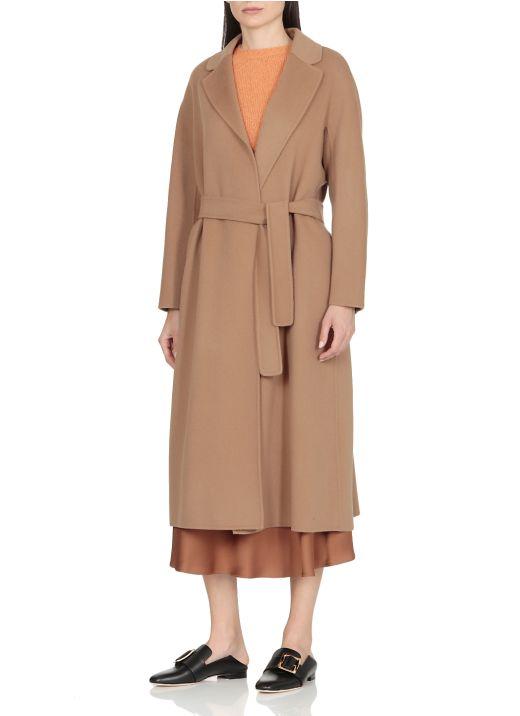 Cappotto in lana vergine