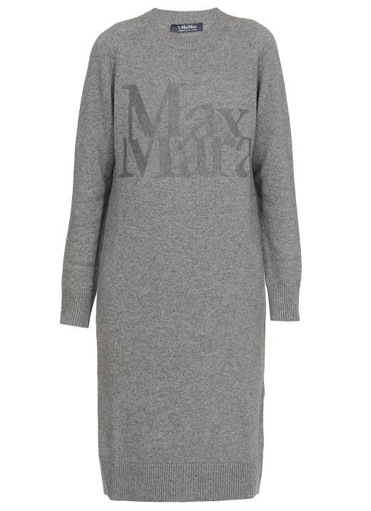Wool and kaschmir dress