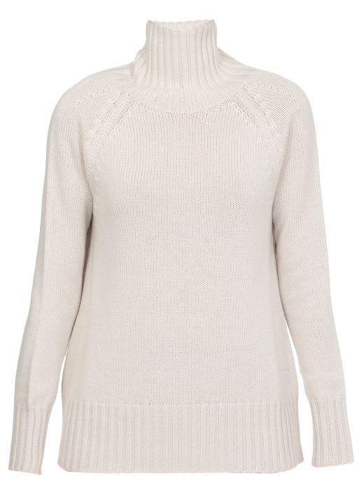 Maglia in lana e cashmere
