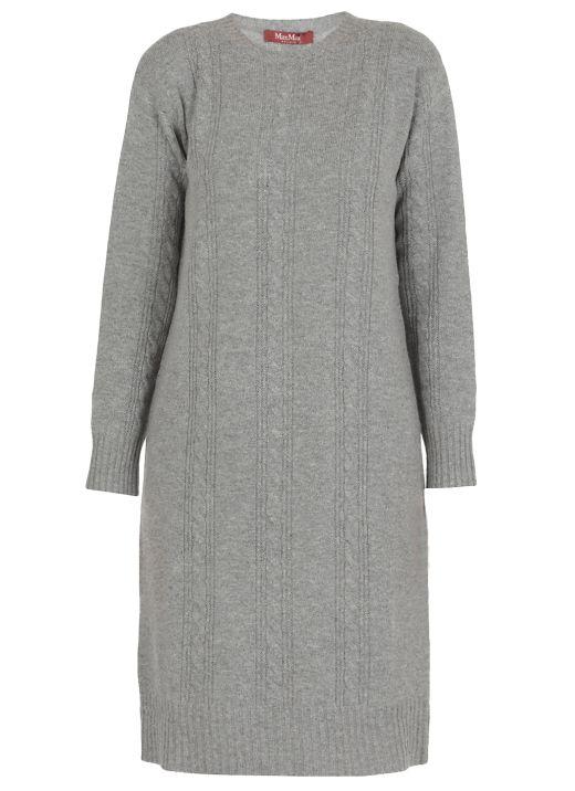 Wool knitted dress