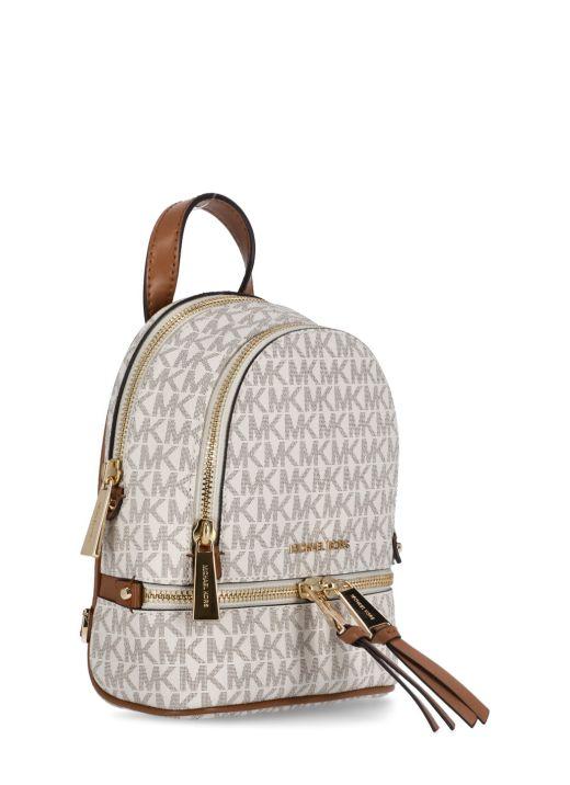 Mini zip backpack