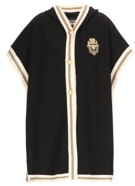 Heraldic Patch wool cape