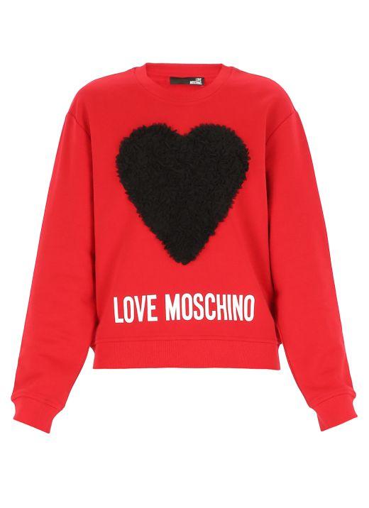 Ruffled Heart sweatshirt