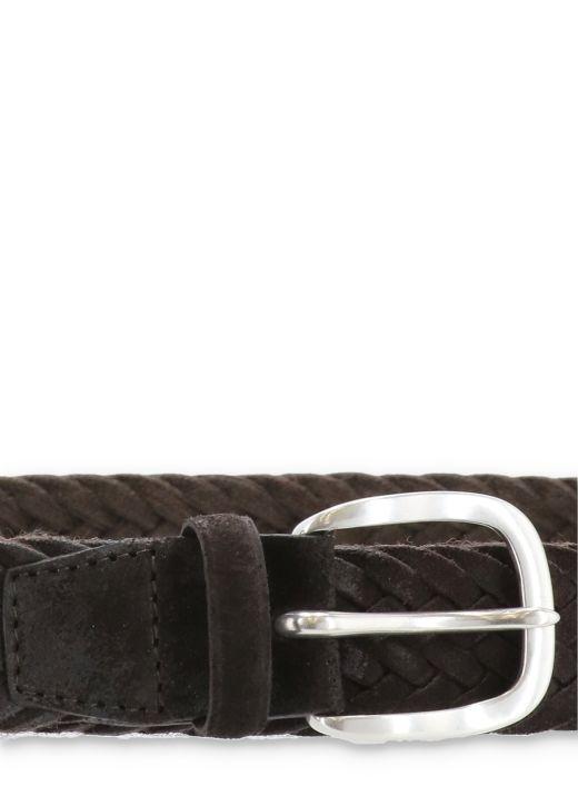 Winter suede belt