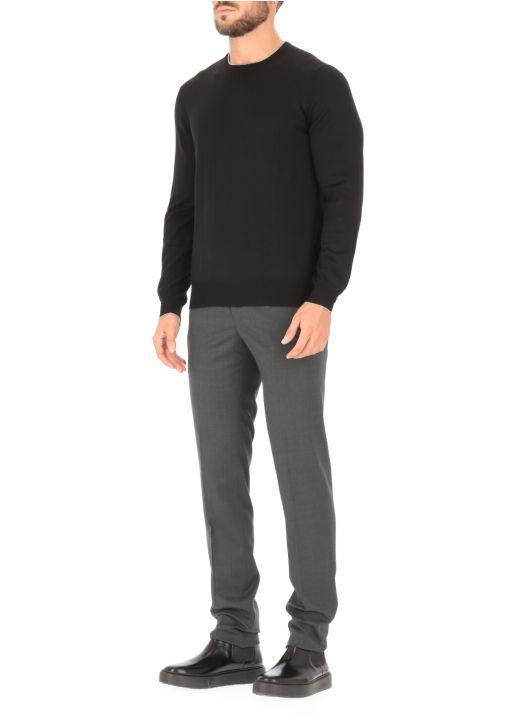 Pantalone sartoriale in lana