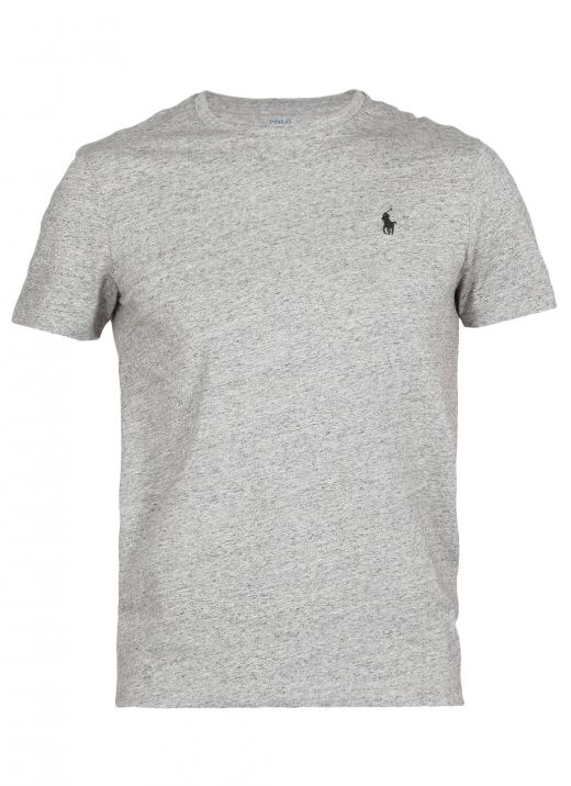 T-shirt with embroidered logo