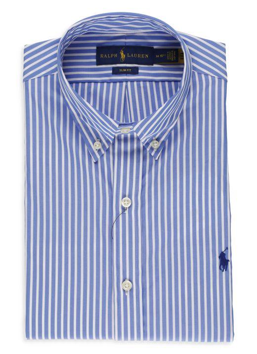Custom-Fit striped shirt