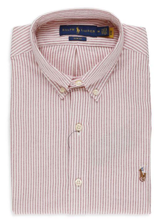 Custom-Fit Oxford striped shirt