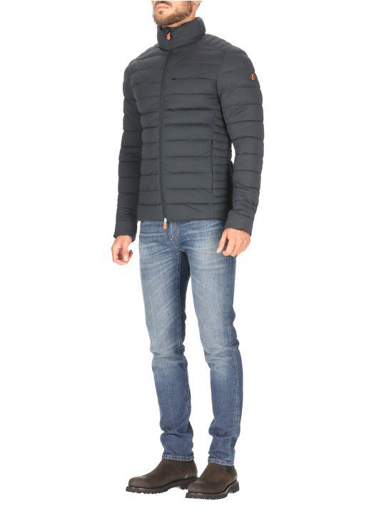 Real short down jacket