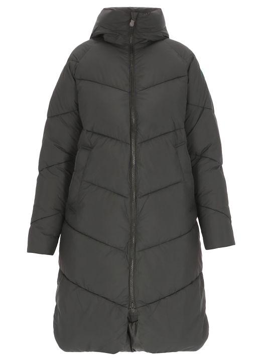 Recy long down jacket
