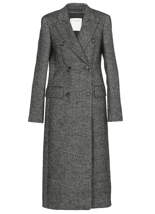 Tweed sartorial coat