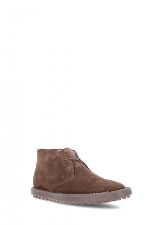 Suede leather desert boot