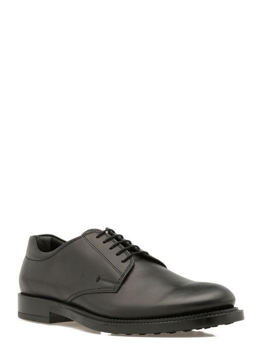 Derby lace-up shoe