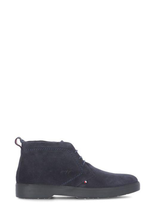 Desert boot in suede