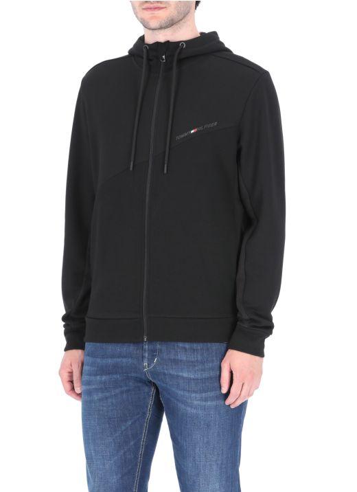 Blocked Terry hoodie