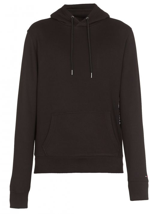 Hoodie with embroidered logo