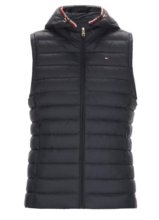 Essential sleeveless down jacket