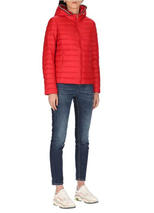 Essential hooded down jacket