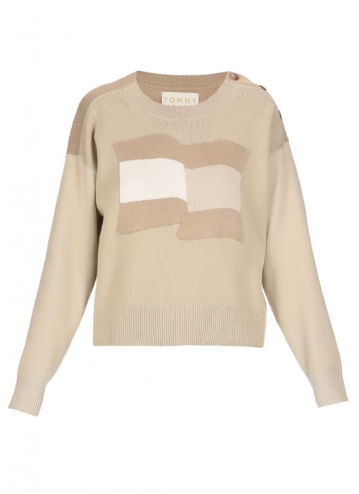 Tommy Icons motion flag jumper