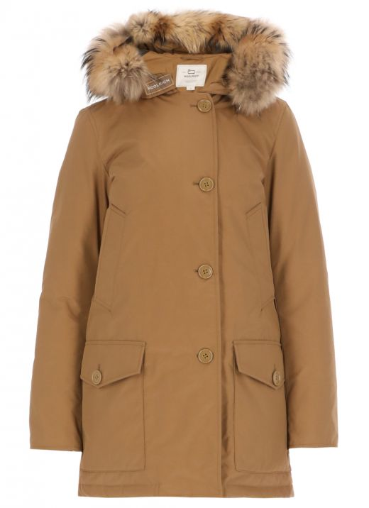 Artic parka with removable fur