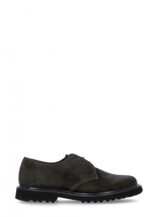 Leather Derby  lace-up shoe