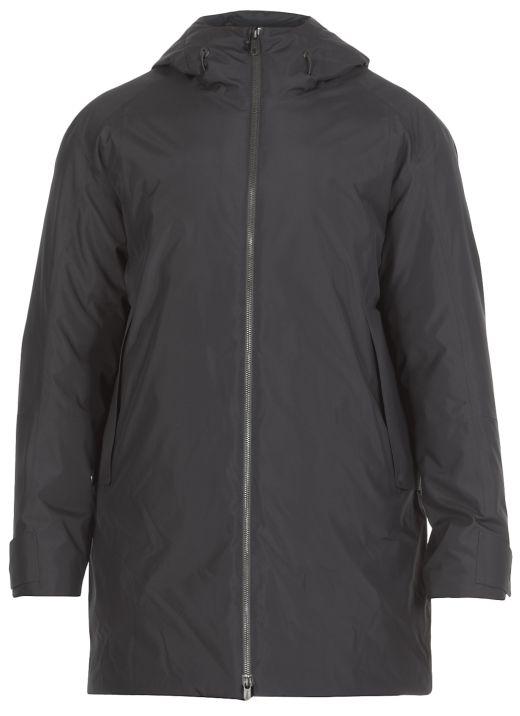 Long padded coat