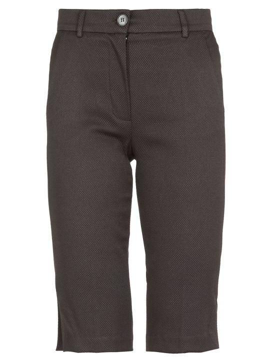 Pantalone sartoriale in misto cotone