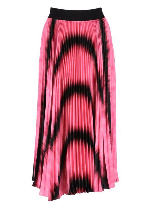Gonna midi plissetta Katz Tie Dye