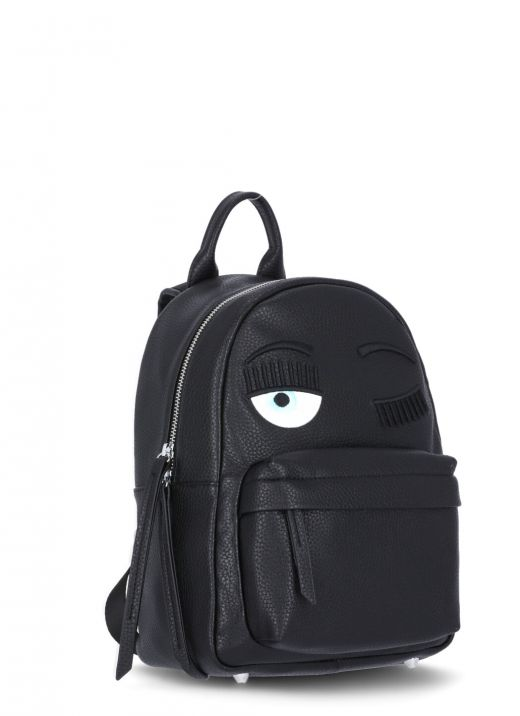 Eco leather backpack