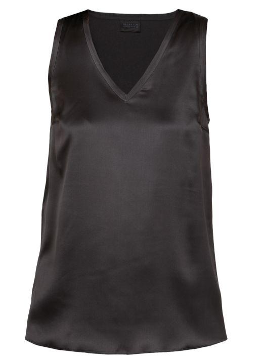 T-shirt in seta