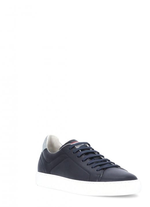 Sneakers in vitello semilucido
