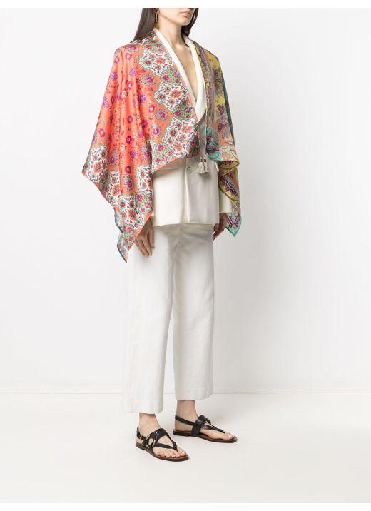 Silk mantle