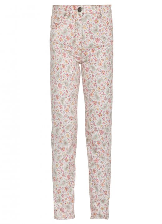 Jeans with Paisley print