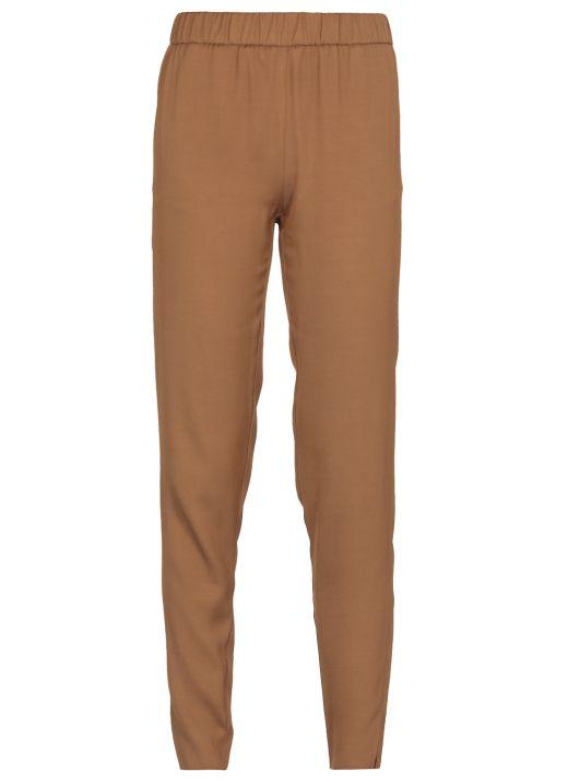 Viscose twill Gubbio pants
