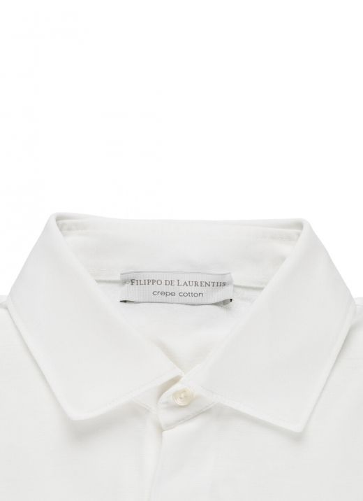 Crepe cotton shirt