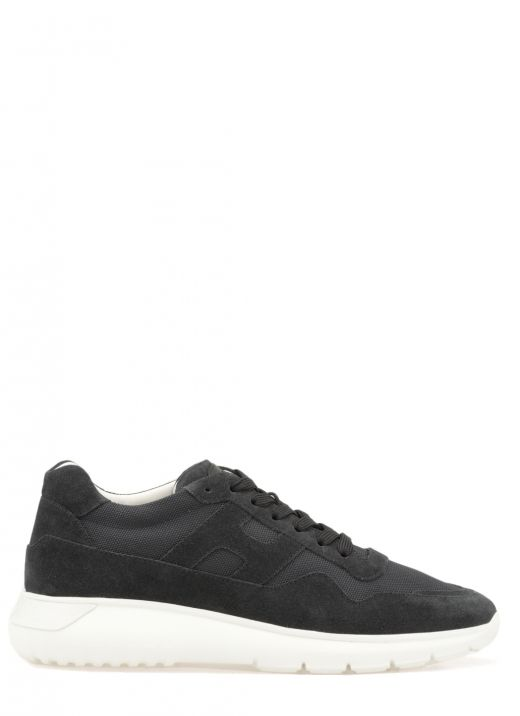 Sneaker in pelle scamosciata