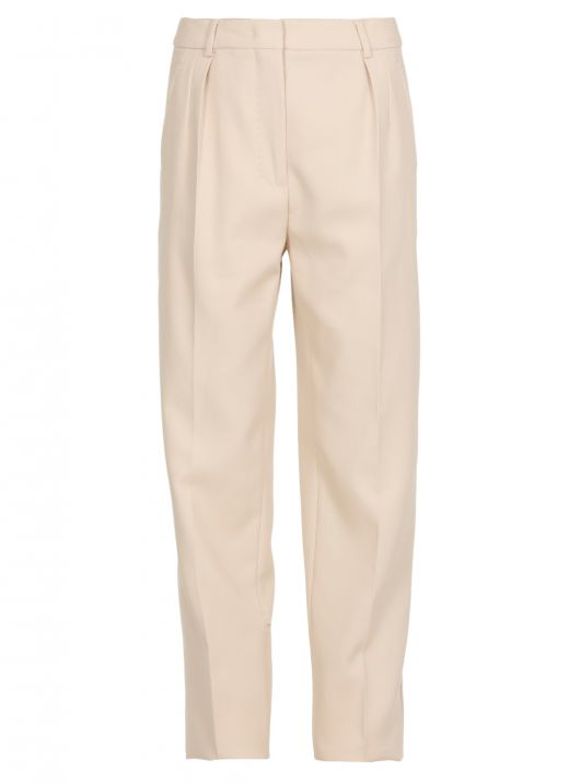 Tailor cut trousers