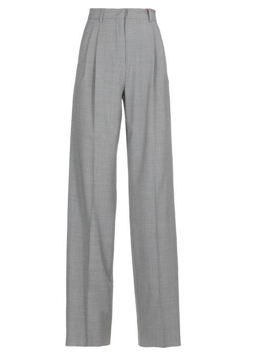 Pantalone in pura lana vergine