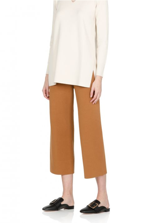 Stretch knitted pant