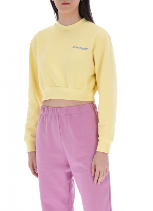 Word torch sweatshirt