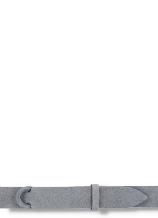 Cintura Nobuckle in pelle