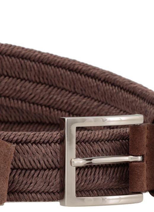 Cintura in corda intrecciata