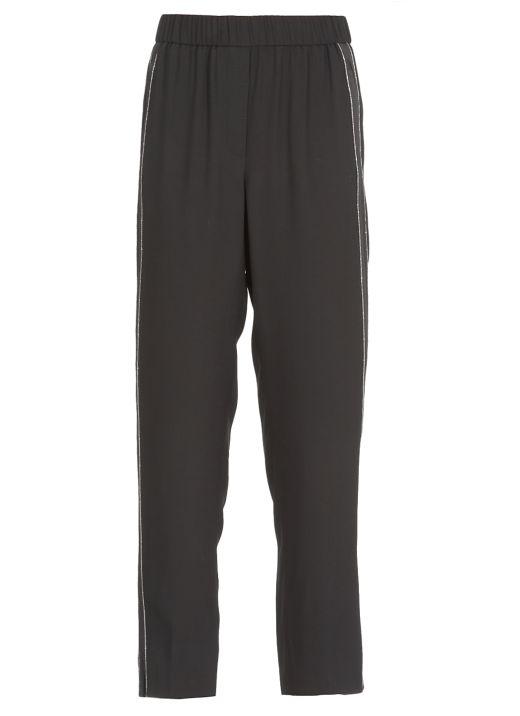 Fluid fabric pants