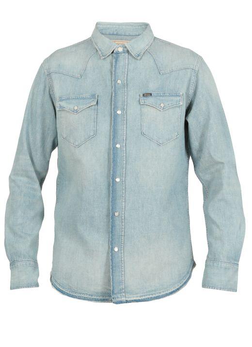 Jeans cotton shirt