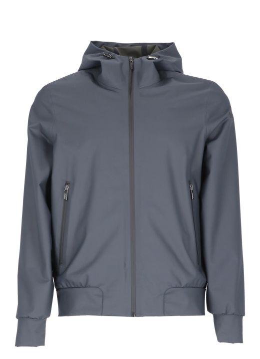 Summer Rubber hood raincoat