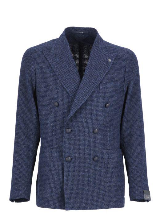 Check fabric jacket